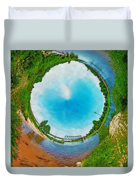 Tubular Panorama Deventer Duvet Cover