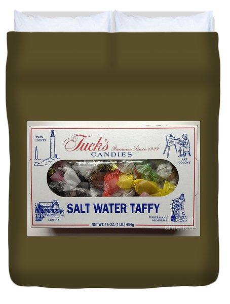 Tuck's Salt Water Taffy Duvet Cover by Patricia E Sundik