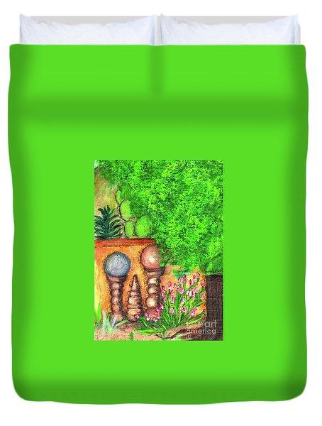 Tucson Garden Duvet Cover