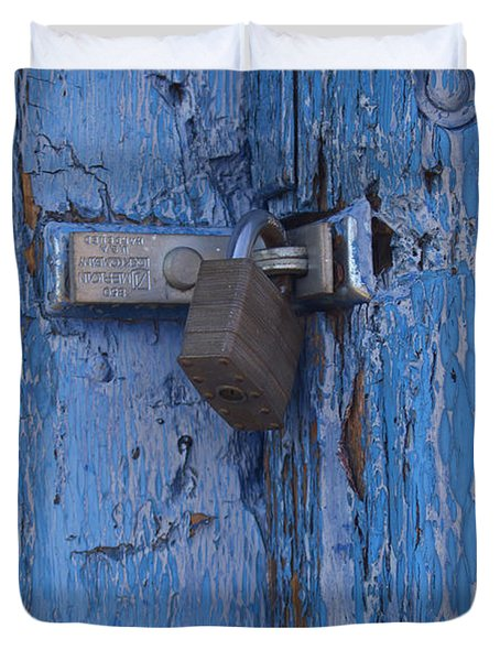 Tucumcari Lock Duvet Cover