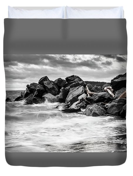 Tugboat Cove Duvet Cover