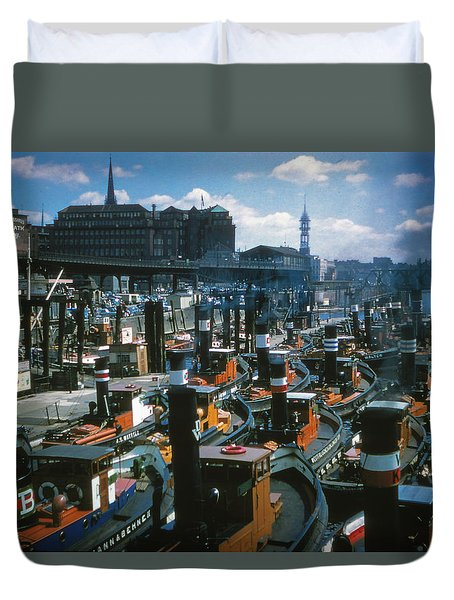Tugs - Hamburg Duvet Cover