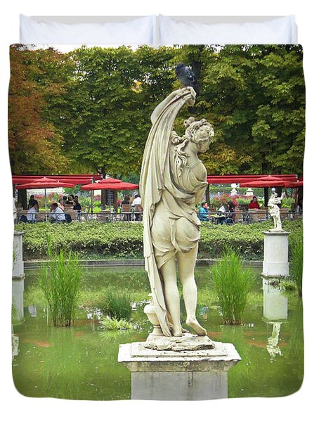 Tuileries Trollop Duvet Cover