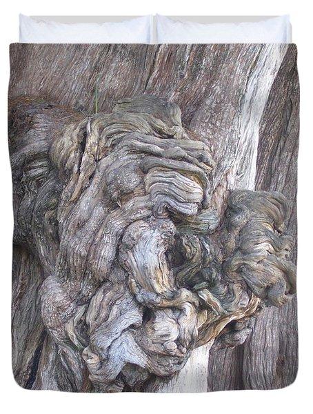 Tule Tree Spirit Duvet Cover by Michael Peychich
