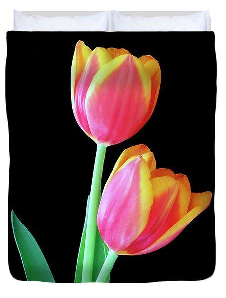 Tulip Duo Duvet Cover