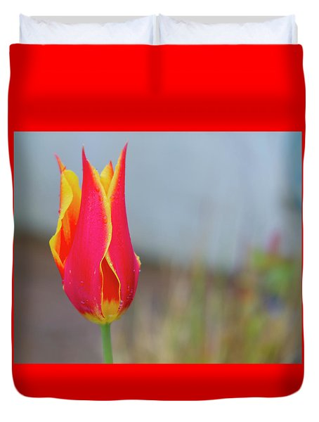 Tulip Fire Duvet Cover