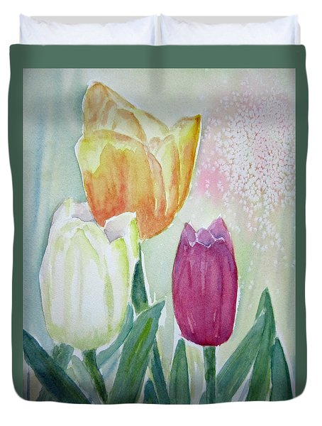 Tulips  Duvet Cover