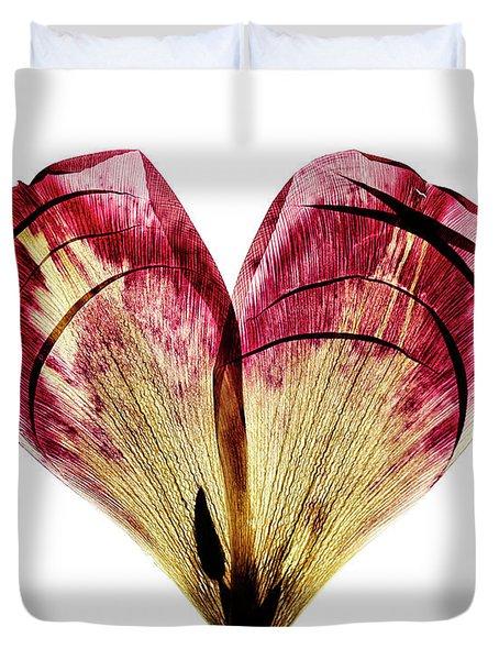 Tulip Heart Duvet Cover