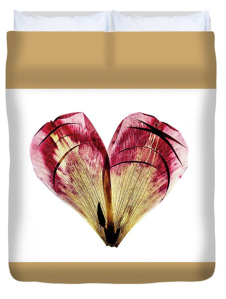 Tulip Heart Duvet Cover