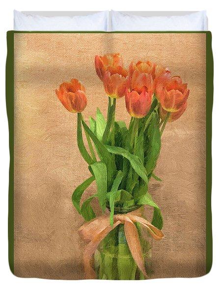 Tulip Impasto Duvet Cover