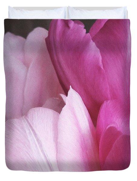Tulip Petals Duvet Cover