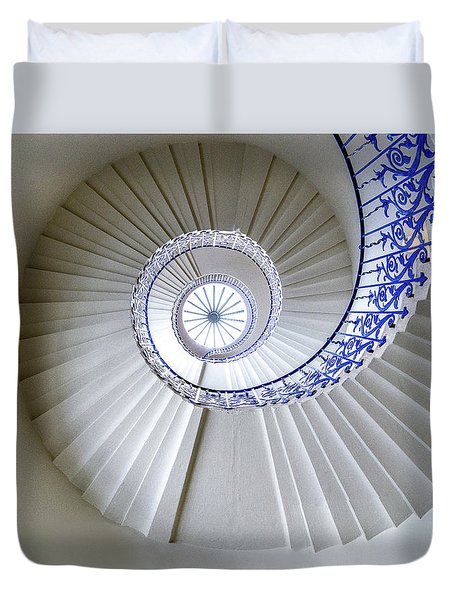 Tulip Staircase Duvet Cover by Jae Mishra