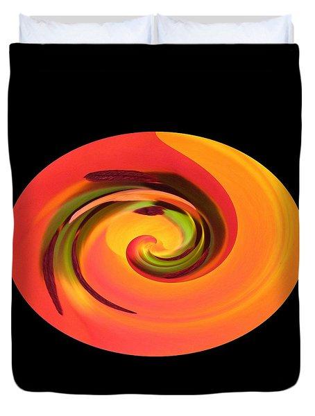Tulip Twirl II Duvet Cover