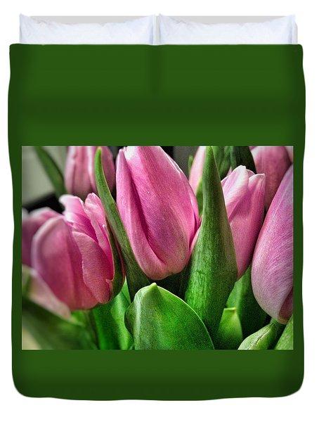 Tulip143 Duvet Cover by Olivier Calas