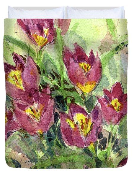 Tulipa Duvet Cover