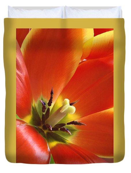 Tuliplicious Duvet Cover
