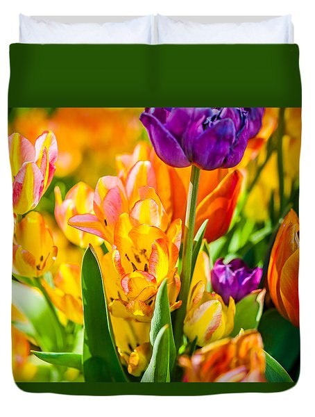 Tulips Enchanting 01 Duvet Cover