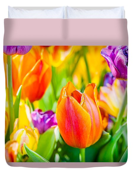 Tulips Enchanting 02 Duvet Cover