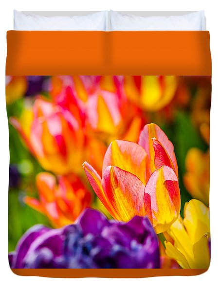 Tulips Enchanting 03 Duvet Cover