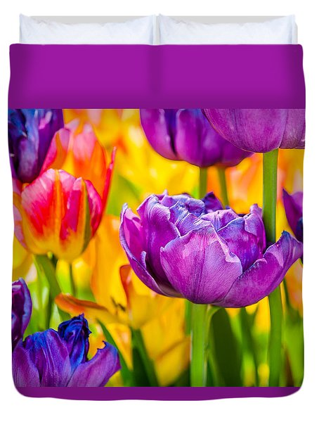 Tulips Enchanting 04 Duvet Cover
