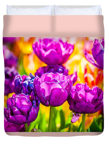 Tulips Enchanting 05 Duvet Cover