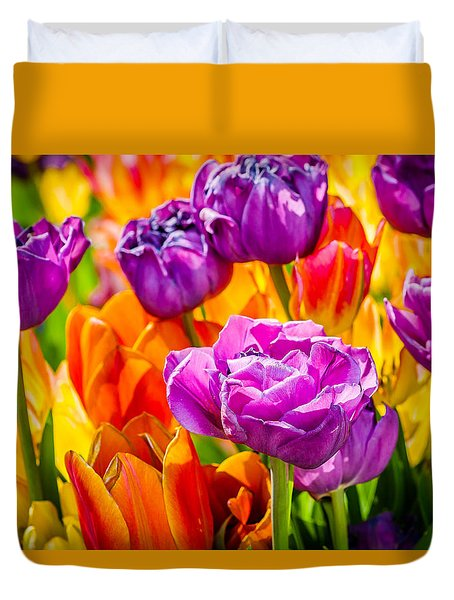 Tulips Enchanting 07 Duvet Cover