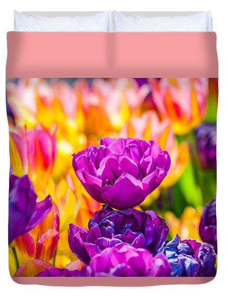 Tulips Enchanting 08 Duvet Cover