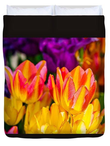 Tulips Enchanting 09 Duvet Cover