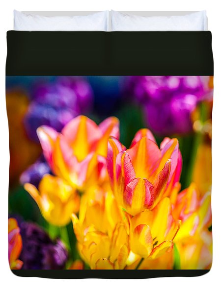 Tulips Enchanting 12 Duvet Cover