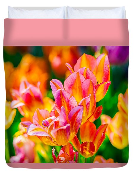 Tulips Enchanting 13 Duvet Cover