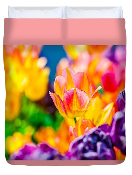 Tulips Enchanting 17 Duvet Cover