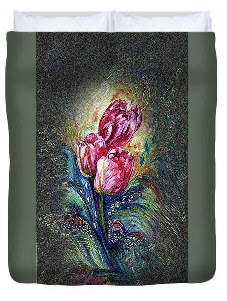 Tulips Fantasy Duvet Cover