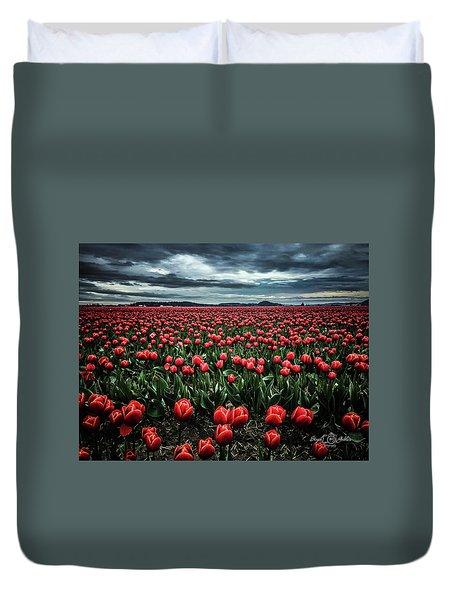 Tulips Forever Duvet Cover