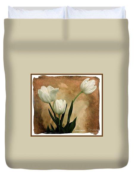 Tulips Three Duvet Cover