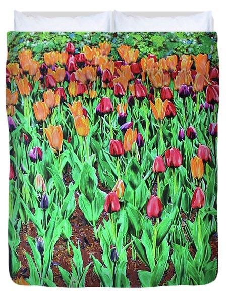 Tulips Tulips Everywhere Duvet Cover
