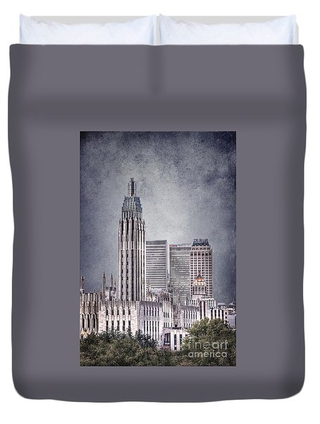 Tulsa Art Deco II Duvet Cover