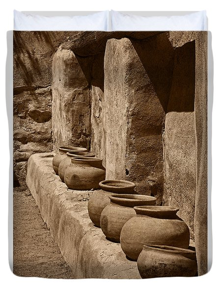 Tumaca'cori Antique Pots Tnt Duvet Cover