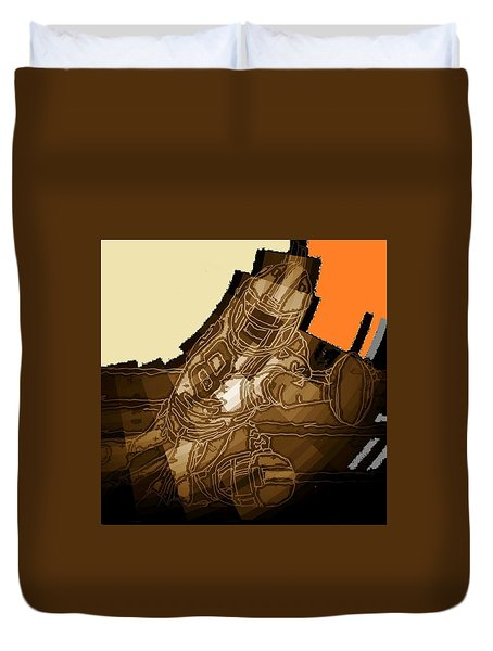 Tumble 1 Duvet Cover by Andrew Drozdowicz