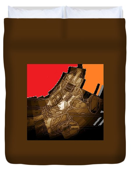 Tumble 3 Duvet Cover by Andrew Drozdowicz