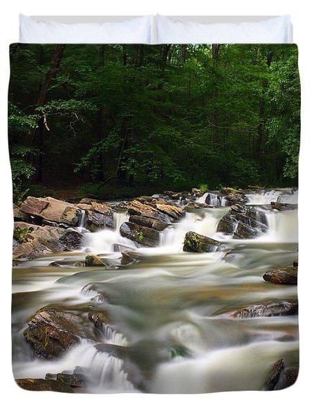 Tumbling Waters Duvet Cover