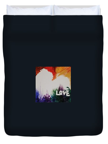 Tumultuous Love Duvet Cover by Autumn Leaves Art