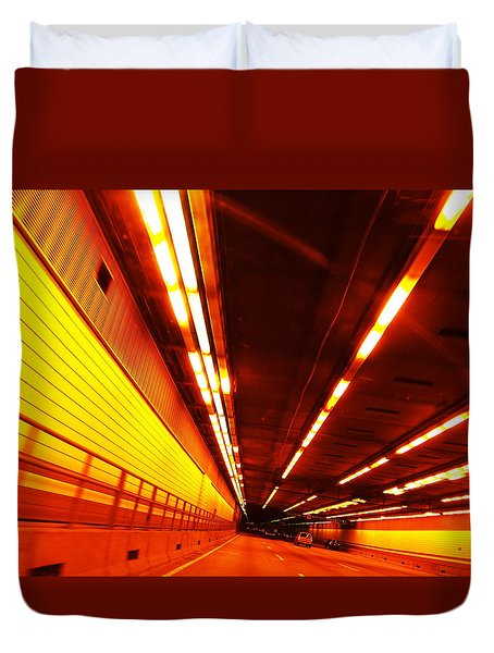 Tunnel Drive Duvet Cover