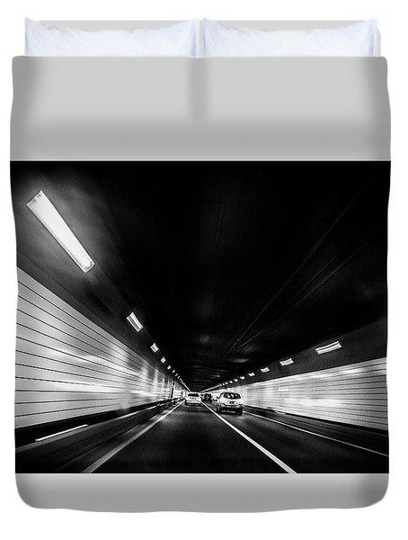 Tunnel Duvet Cover by Hyuntae Kim