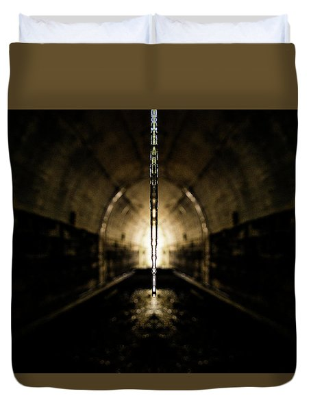 Tunnel Icicle Duvet Cover