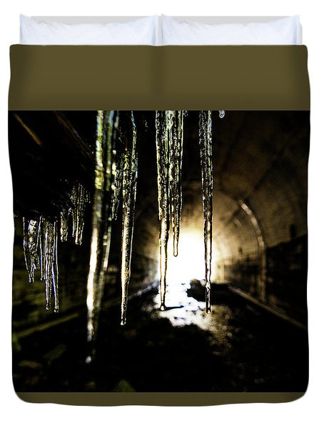 Tunnel Icicles Duvet Cover