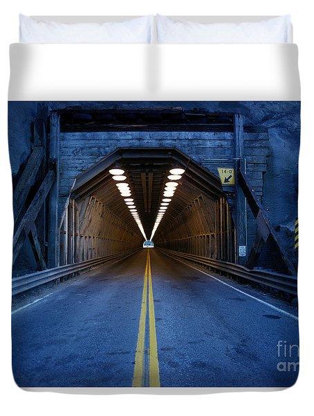 Tunnel Near Ential Washington Duvet Cover