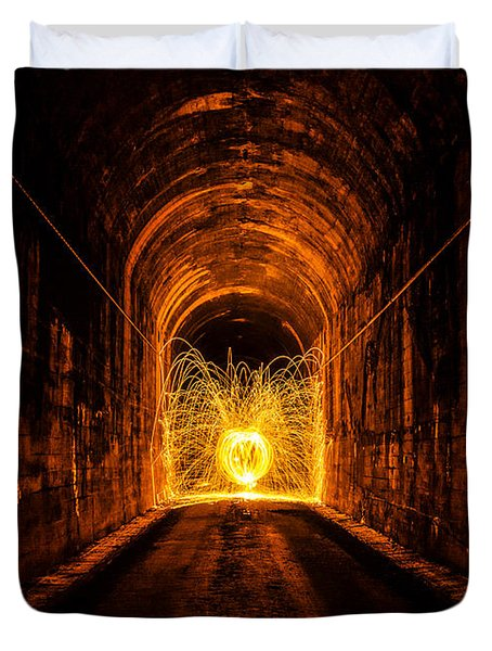 Tunnel Sparks Duvet Cover