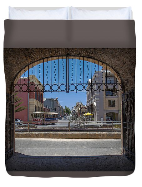 Tunnel To Fremantle Duvet Cover