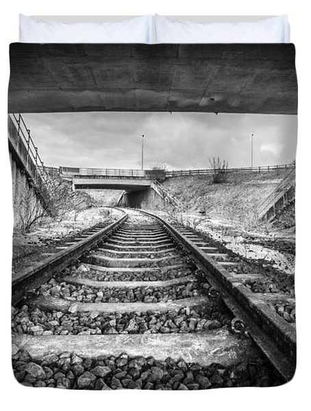 Tunnels And Tracks Duvet Cover
