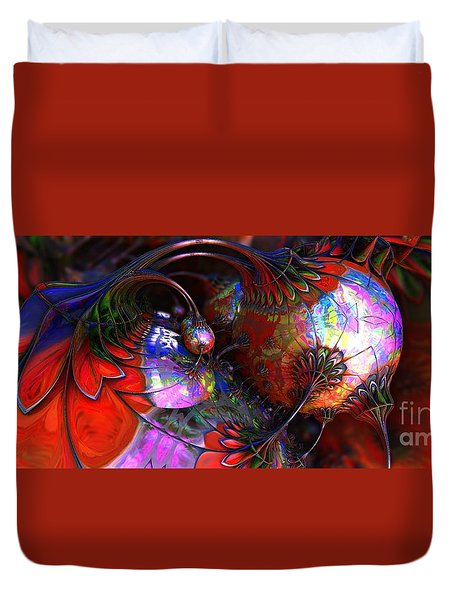 Tuns Of Paint Duvet Cover